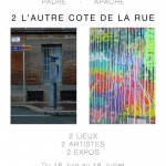 2 l'autre côté de la rue, l'exposition street art sur Toulouse de City Of Talents