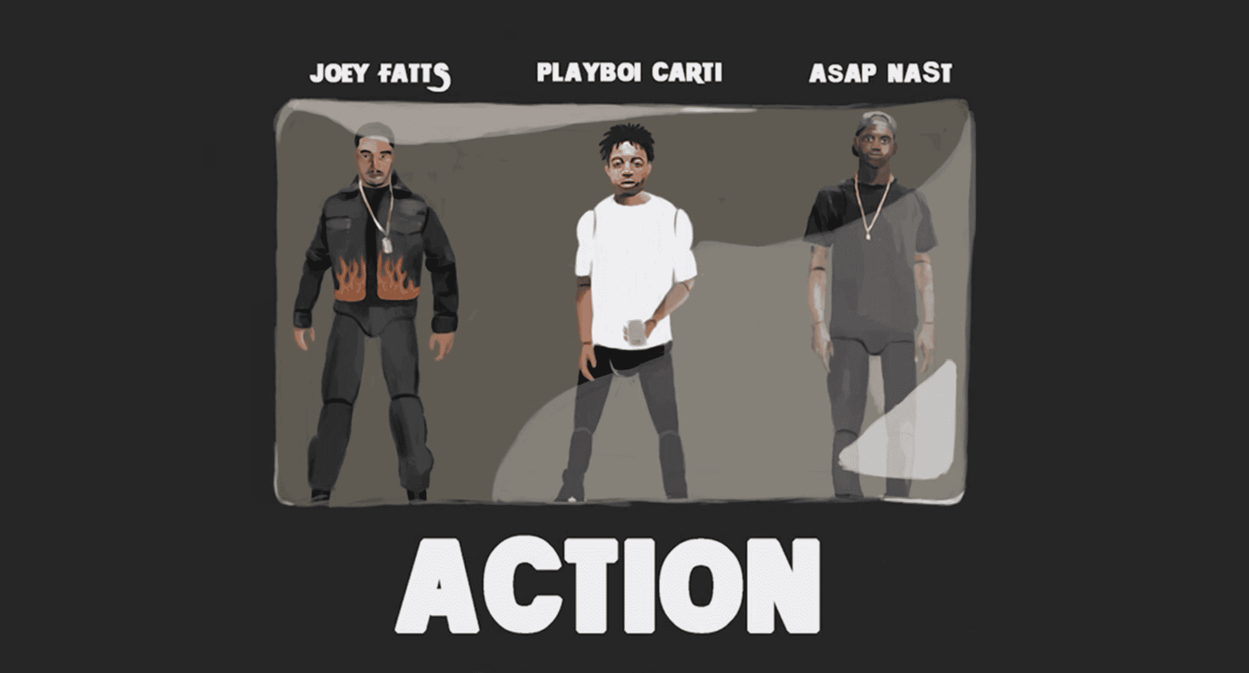 image joey fatts son action