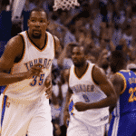 Ce sera Golden State pour Kevin Durant !