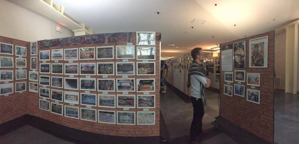 image mur de cliché graffiti expo history x