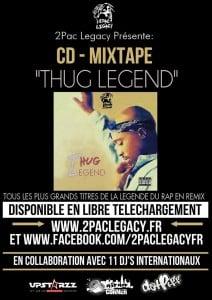 image tupac mixtape thug legend - 2pac legacy