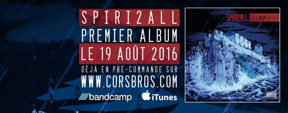 image spiri2all sortie 1er album