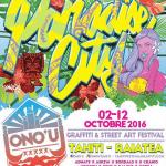 Le festival de graffitis Ono'u 2016 fait son retour à Tahiti pour sa 3ème édition