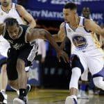 Premier match et première claque pour les Warriors en NBA !