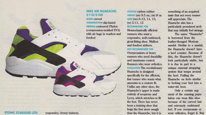 Nike Air Huarache 1991