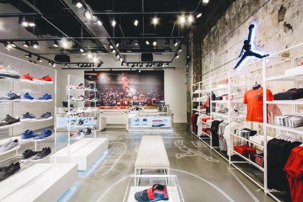 Implacable En el nombre bienestar  Le premier Jordan Store d'Europe s'installe à Bastille !