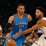 La belle série continue pour Golden State, Westbrook étrille les Knicks