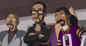 Image RZA Common et Snoop Dogg épisode Simpson