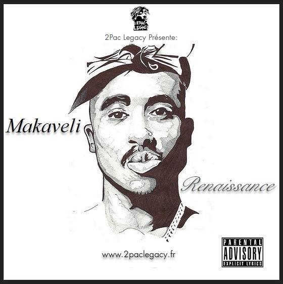 image tupac mixtape cover makaveli renaissance