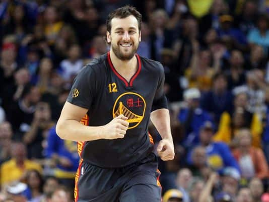 image Andrew Bogut warriors signature cavs