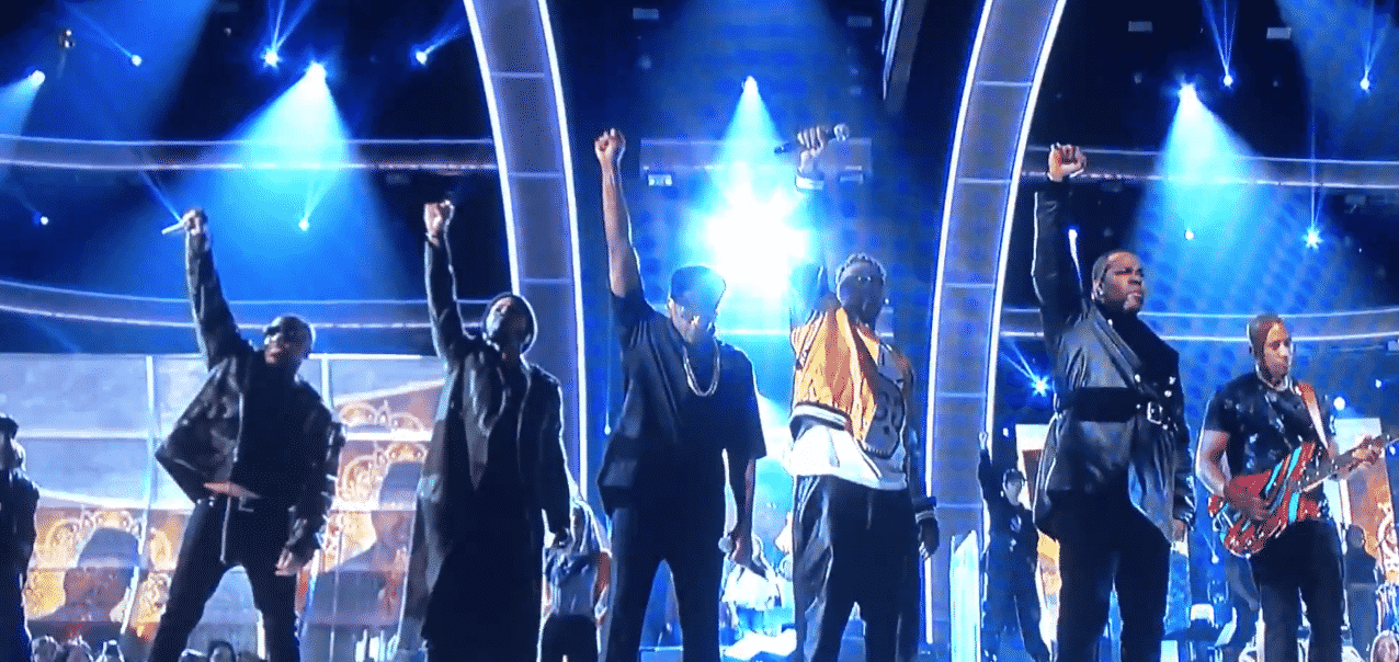 image A Tribe Called Quest aux Grammy Awards 2017