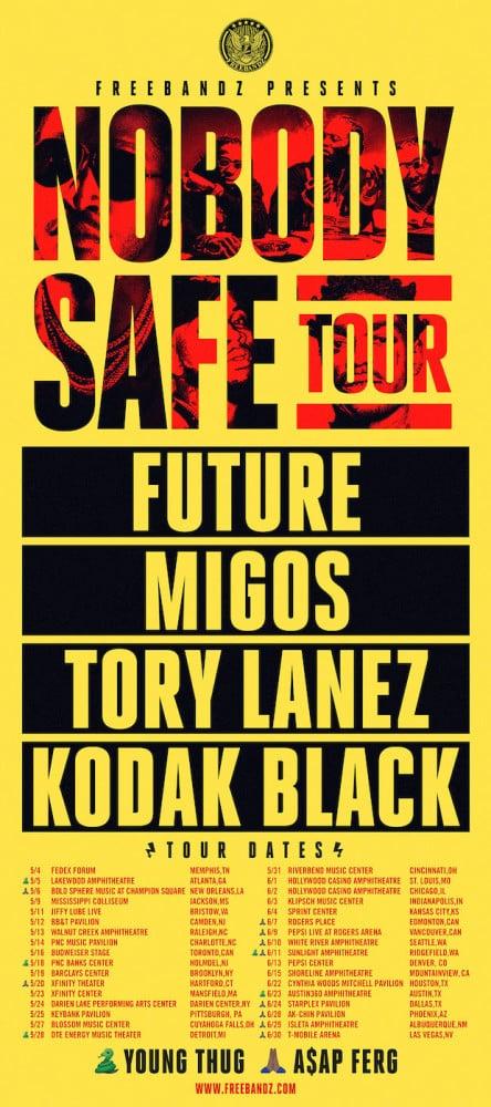 image Nobody Safe Tour 2017 de Future