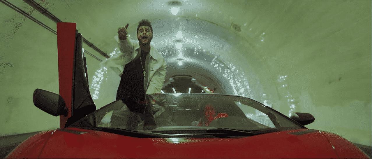 image The Weeknd du clip Reminder