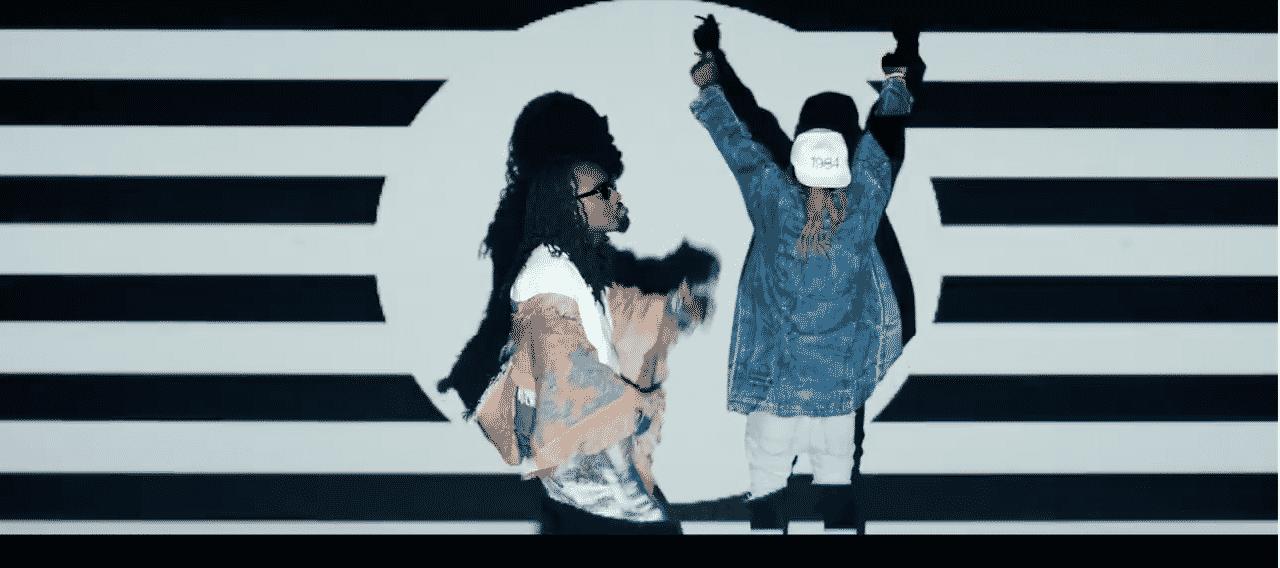 image Wale et Lil Wayne du clip Running Back