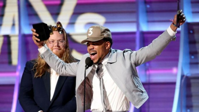 image chance the rapper actu grammy awards 2017