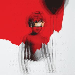 image cover album Anti de Rihanna