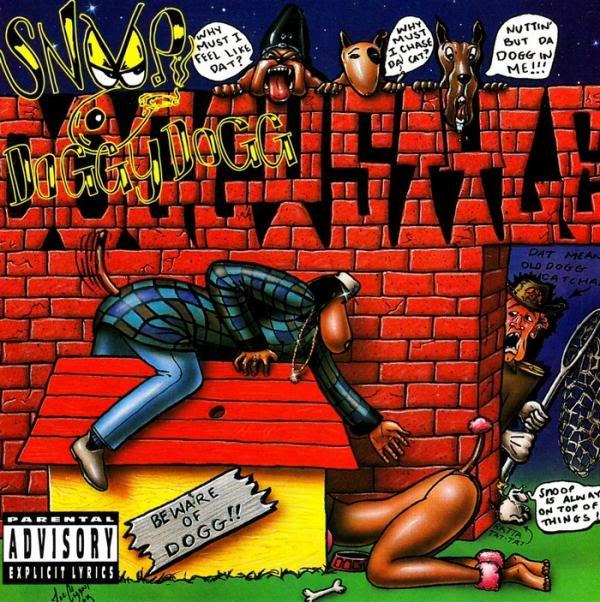 image cover album Doggystyle de Snoop Dogg