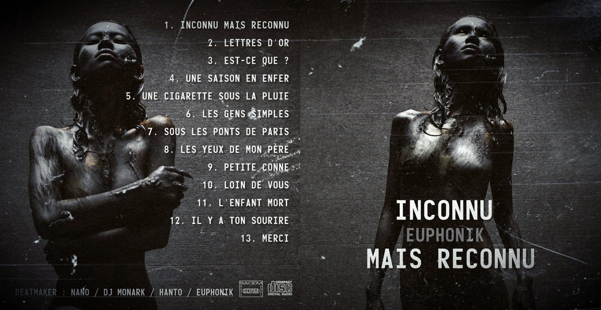 image tracklist Euphorik album Inconnu et Reconnu II