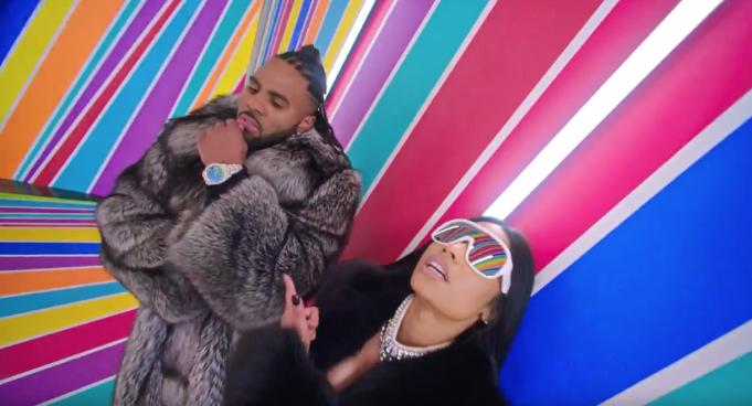 image Jason Derulo & Nicki Minaj du clip Swalla