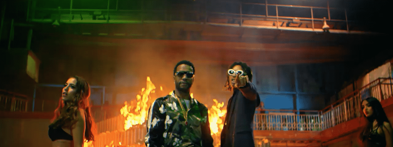 image Juicy J & Wiz Khalifa du clip Cell Ready