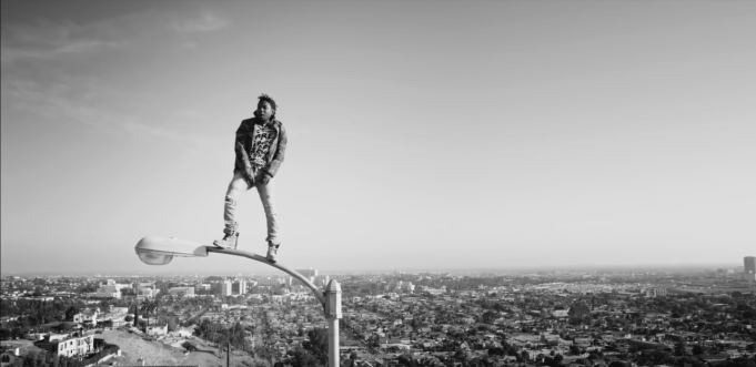 image Kendrick Lamar du clip Alright