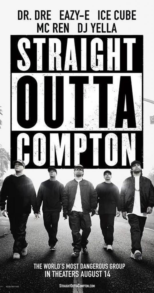 image affiche biopic Straight Outta Compton