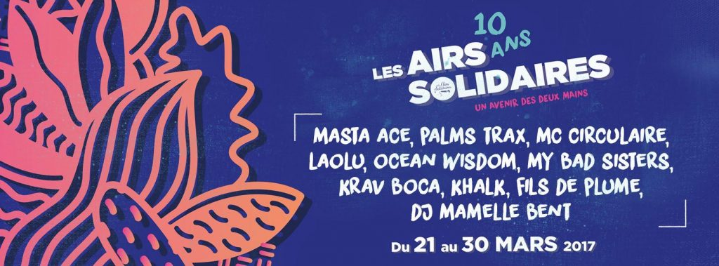 image affiche concert masta ace Les Airs Solidaires 2017