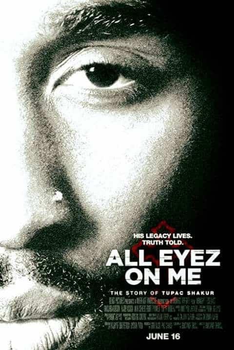 image affiche du film All Eyez On Me de 2Pac