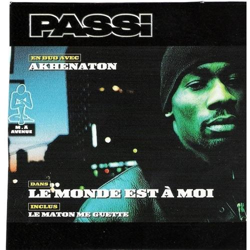 image cover Le Monde Est A Moi de Passi feat Akhenaton
