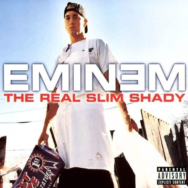 image cover The Real Slim Shady de Eminem