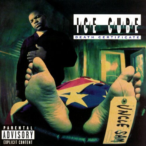 image cover album Death Certificate de Ice Cube