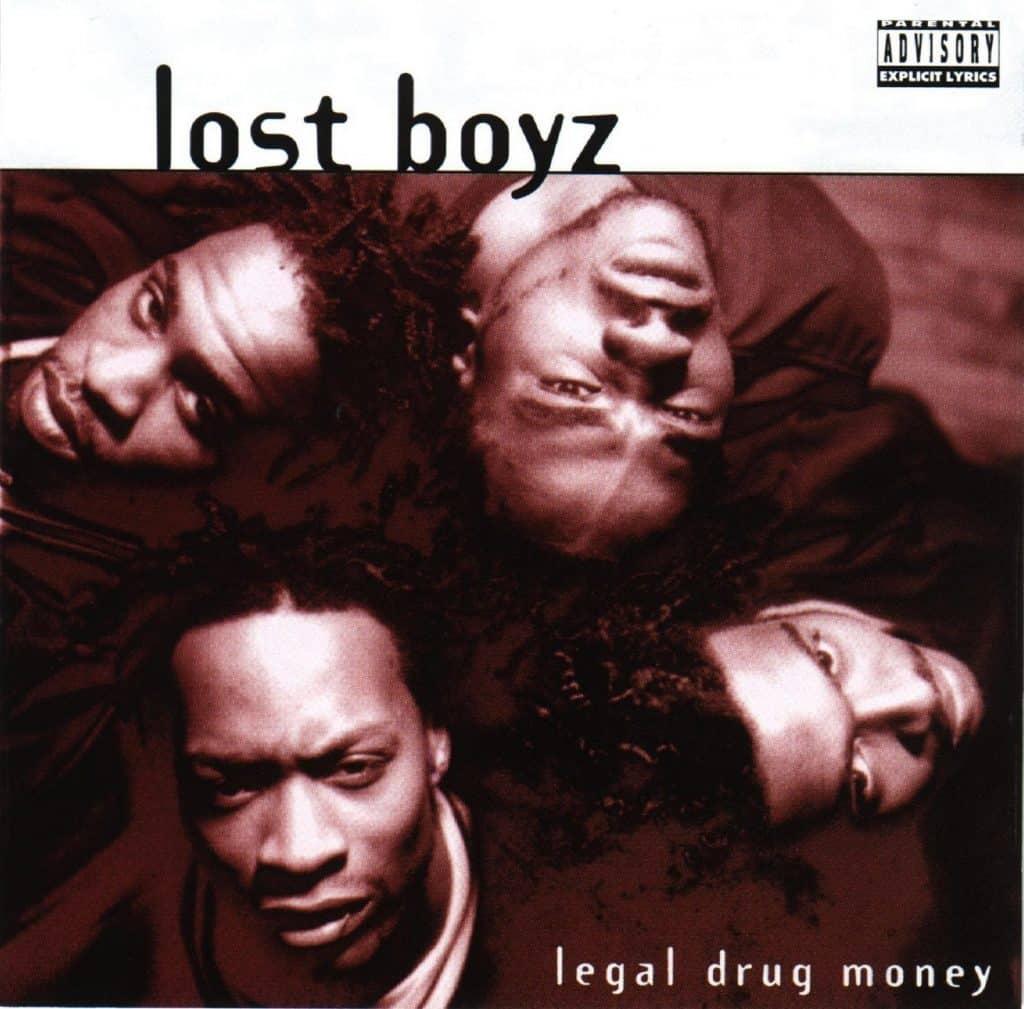 image cover album Legal Drug Money des Lost Boyz