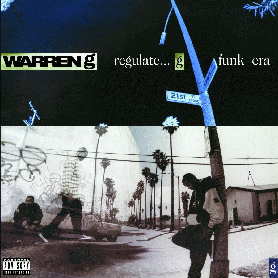 image cover album regulate G Funk Era de Warren G
