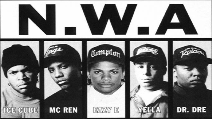 image cover son Fuck Tha Police de NWA