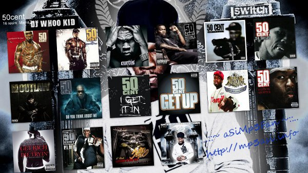 image 50 Cent discographie