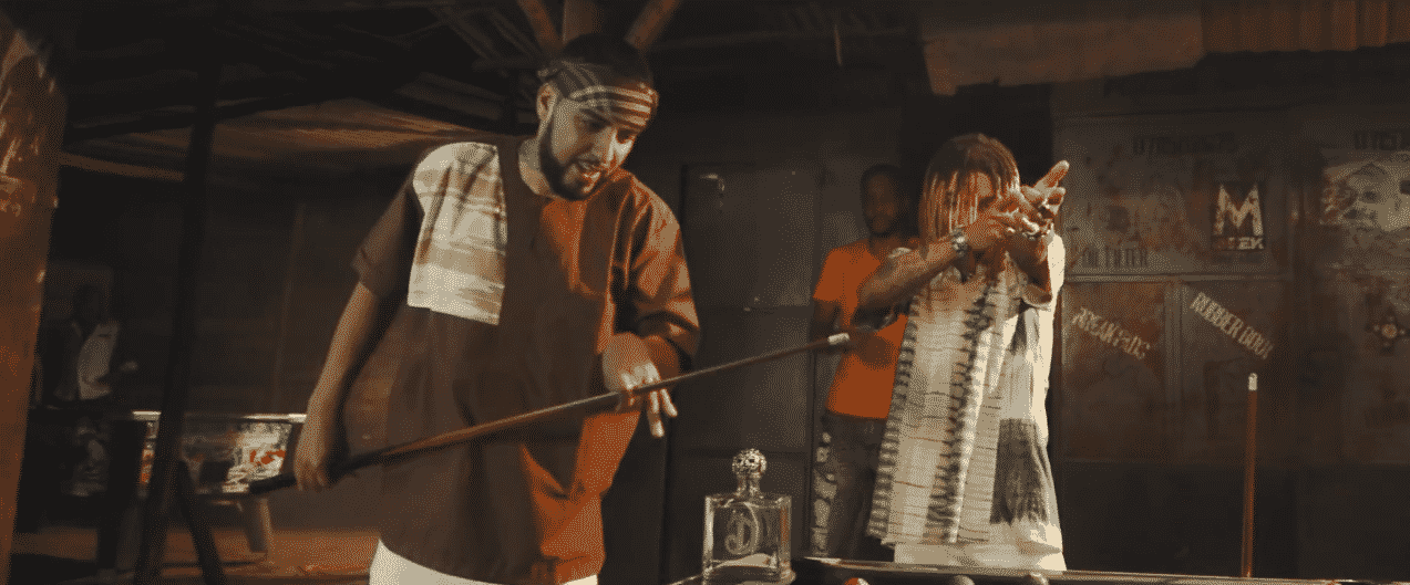 image French Montana & Swae Lee du clip Unforgettable
