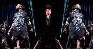 image Kanye West et Jay Z du clip Niggas In Paris