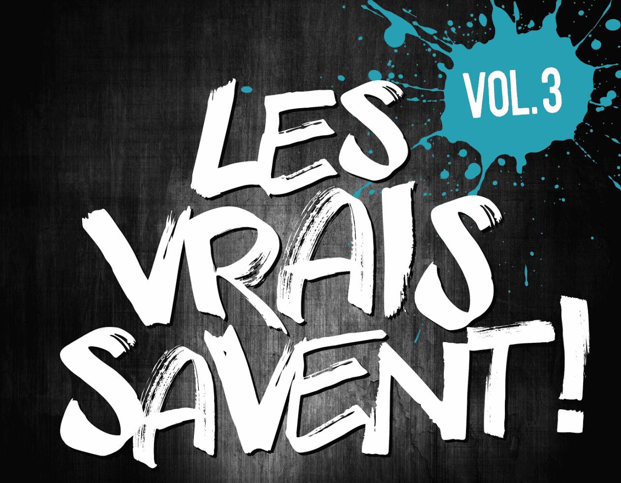 image Les Vrais Savent article sortie compil' volume 03
