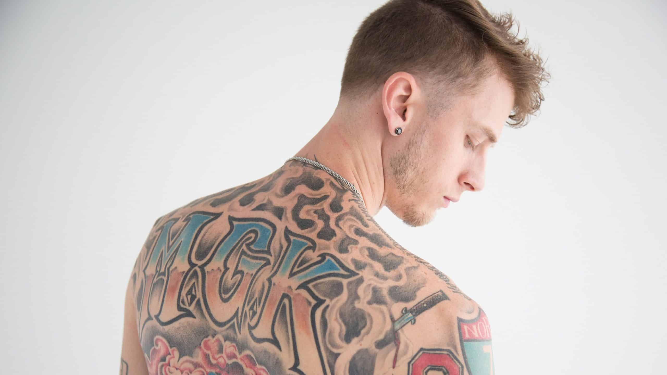 image MGK article son Let You Go
