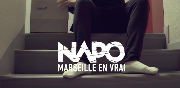 image Napo du clip Marseille En Vrai