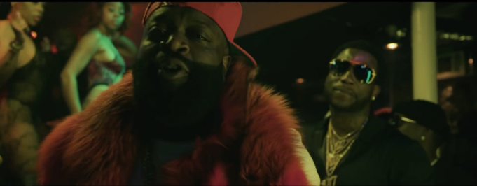 image Rick Ross et Gucci Mane du clip She On My Dick