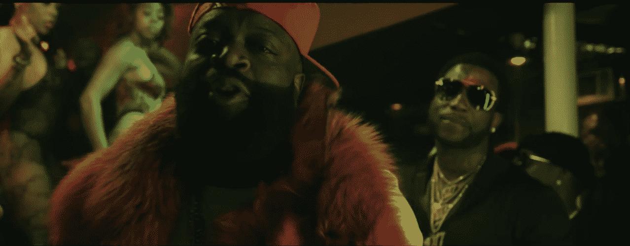 image Rick Ross et Gucci Mane du clip She On My Dick
