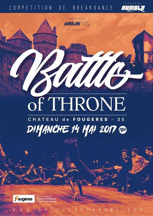 image affiche Battle of Throne 2017