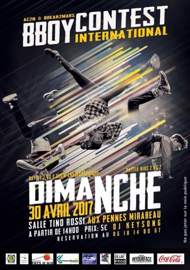 image affiche Bboy Contest International 2017 article annonce event