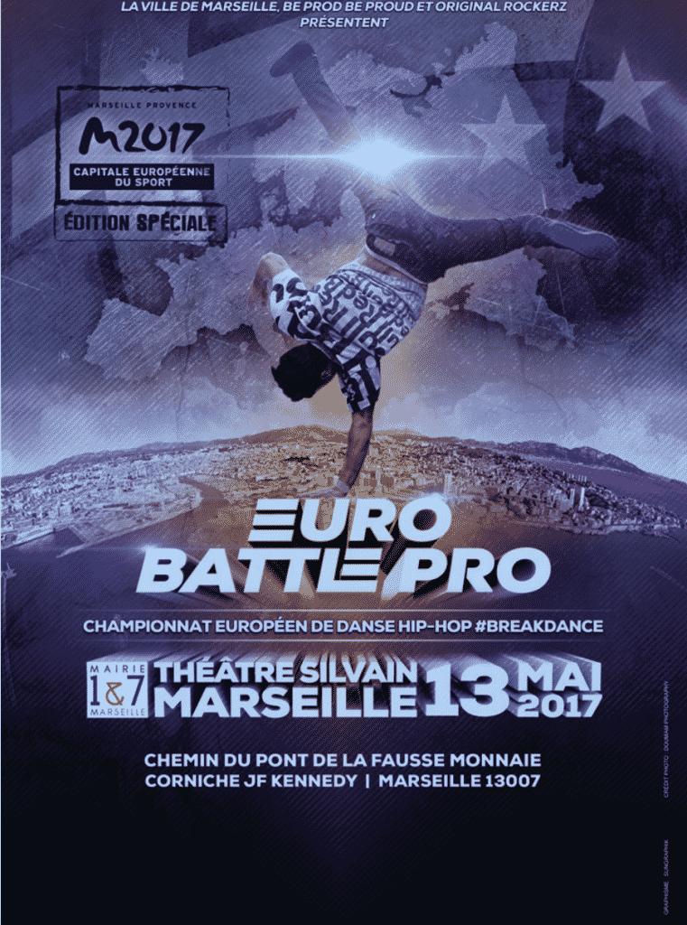 image affiche Euro Battle Pro 2017