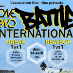 Rendez-vous au One-One Battle International 2017