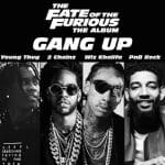"Young Thug, 2 Chainz, Wiz Khalifa & PnB Rock s'associent pour ""Gang Up"""