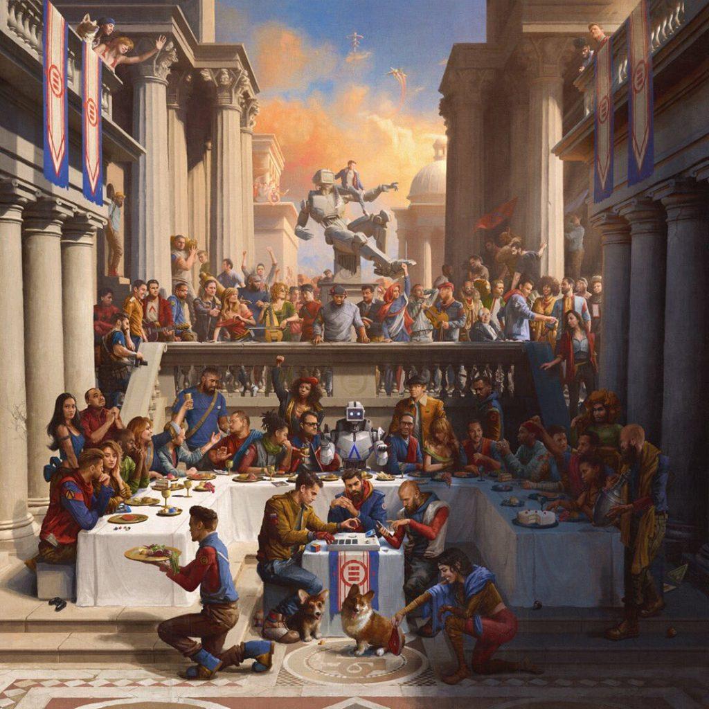 image cover album Everybody de Logic