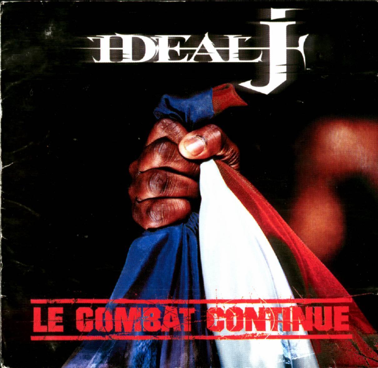 image cover album Le Combat Continue de Ideal J