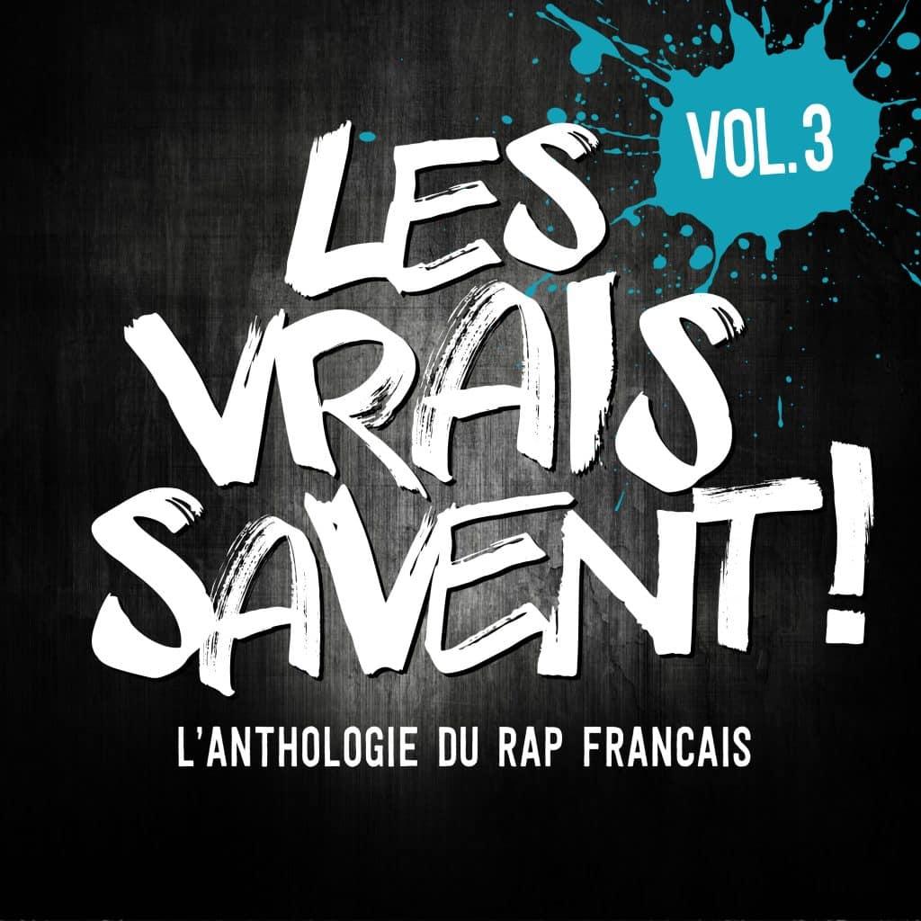 image cover compilation Les Vrais Savent L'Anthologie du Rap Français
